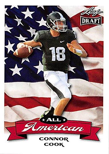 release date: df154 383c5 Connor Cook Football Card (Michigan State, Oakland Raiders ...
