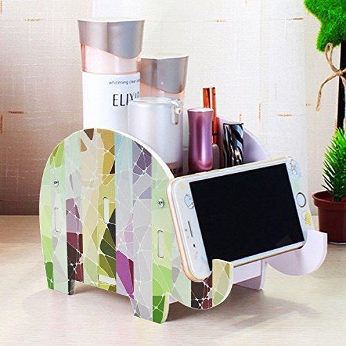 Cheap  Mokani Desk Supplies Organizer, Creative Elephant Pencil Holder Multifunctional Office Accessories Desk..