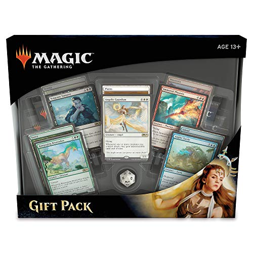 Magic Gift Pack 2018 | 70 Magic: The Gathering Cards | 4 Booster Packs | 5 Rare Creature Cards | 5 Foil Land Cards + More from Magic: the Gathering