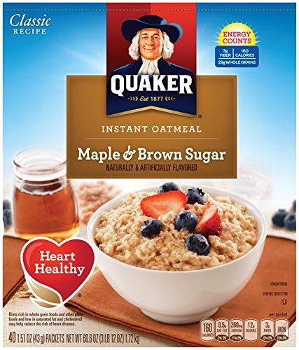 Maple Oatmeal - 1