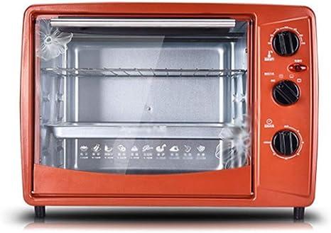 LITING Máquina de Desayuno Horno Tostador Multifuncional Horno eléctrico Pastel para Hornear en casa Horno multifunción 30 litros Hornos de Cocina de Gran Capacidad: Amazon.es: Deportes y aire libre