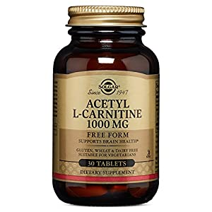 Solgar – Acetyl L Carnitine 1000 mg, 30 Tablets