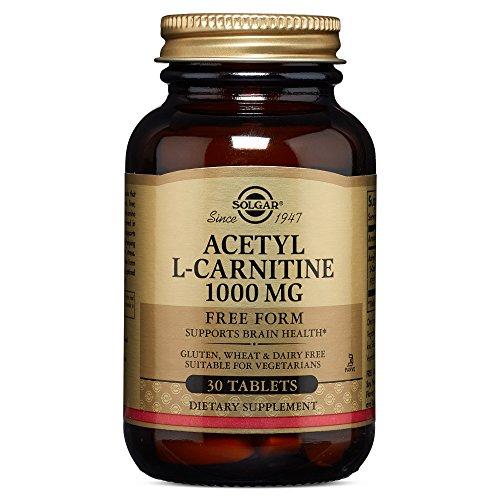 Solgar – Acetyl L Carnitine 1000 mg, 30 Tablets
