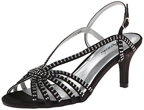 Annie Zapatos Mujeres Lance Sandal Black