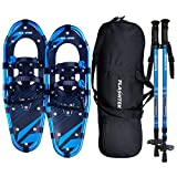 FLASHTEK 21/25/30 Inches Snowshoes for Men and