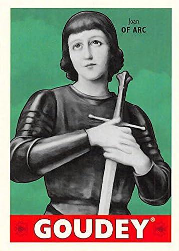 2016 UD GOUDEY JOAN OF ARC #45