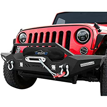 hitch wiring harness for 07 16 jeep c2 ae wrangler wiring diagram  amazon com oedro wrangler front bumper, compatible for 2007 2018 hitch wiring harness for 07 16 jeep c2 ae wrangler