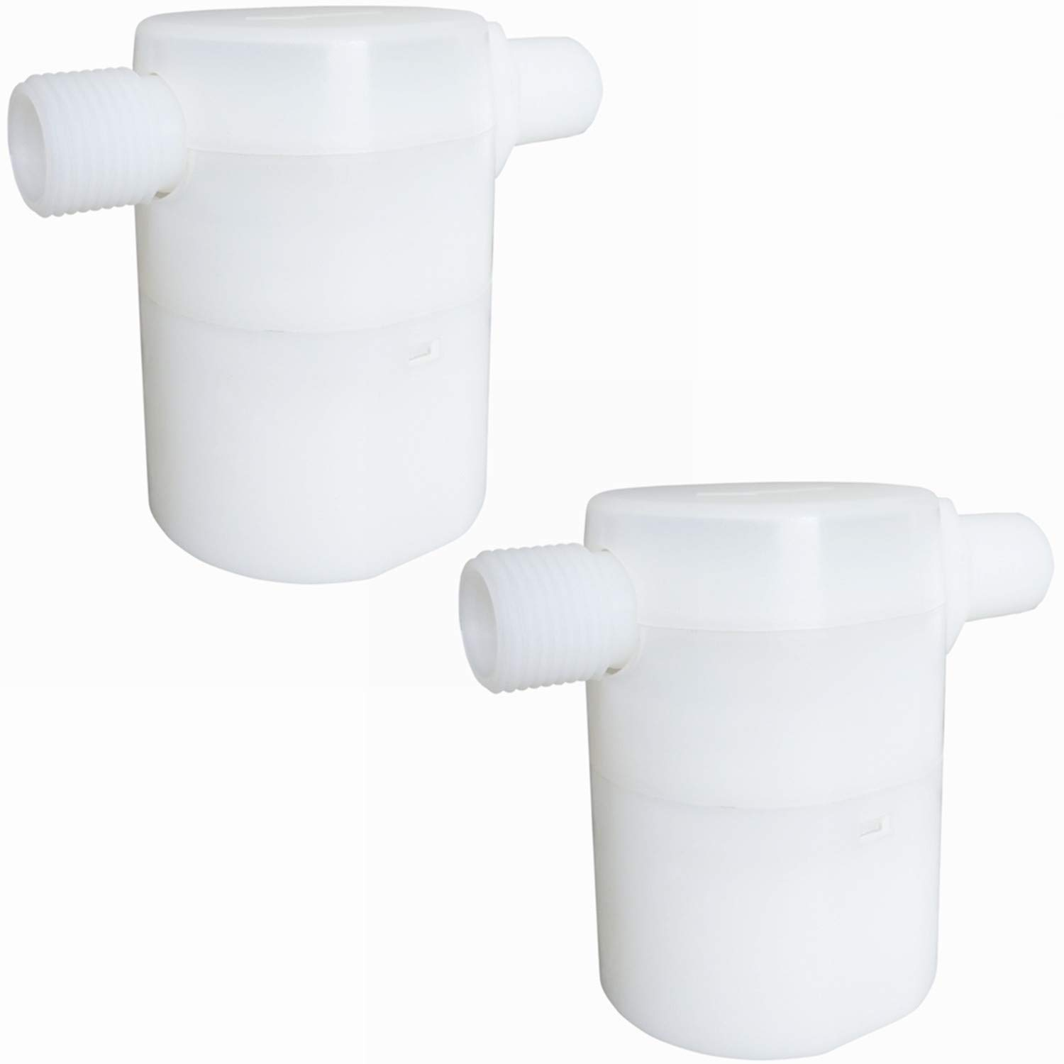 1//2 Water Float Valve Side Inlet Water Level Control Water Tank Traditional Float Valve Upgrade 2 PCS