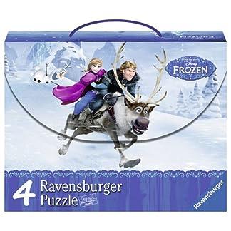 Frozen – Maleta con 4 puzzles (Ravensburger 07300 9)