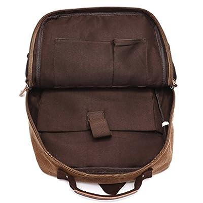 Super Modern Vintage Canvas Backpack Rucksacks for Laptop / School / Hiking /Outdoor Casual Daypacks College Bag Laptop Bag Computer Bag Bookbag School Backpack - sports-and-outdoors
