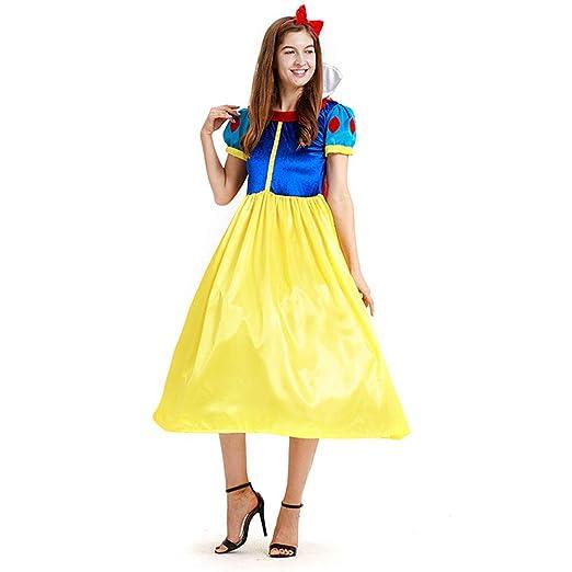 ZED- MujerTraje de Princesa Blancanieves Disfraz de Carnaval con ...