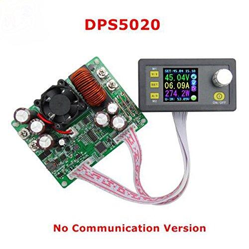 Prament 定電圧電流ステップダウン通信デジタル電源降圧コンバータLCD電圧計50V 20A COD A  B07K2LXXSN