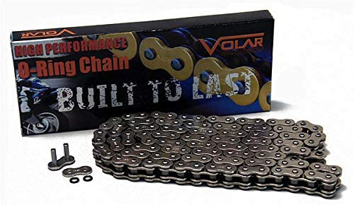 Gold 530 x 150 Links O-Ring Motorcycle Chain for Extended Swingarm