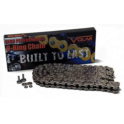 Nickel 530 x 150 Links O-Ring Motorcycle Chain for Extended Swingarm