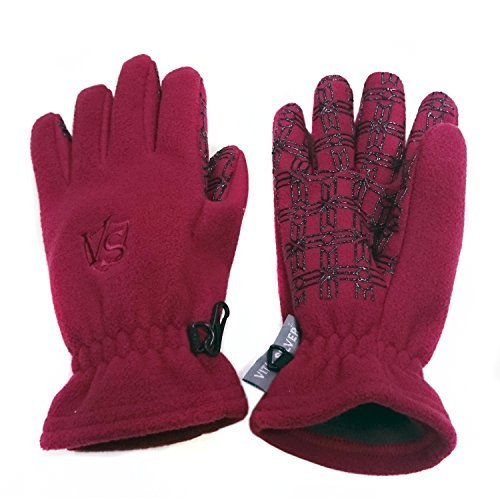 Vital Salveo- 3WARM Windproof Non Slip Winter Fleece Gloves Vital Silver