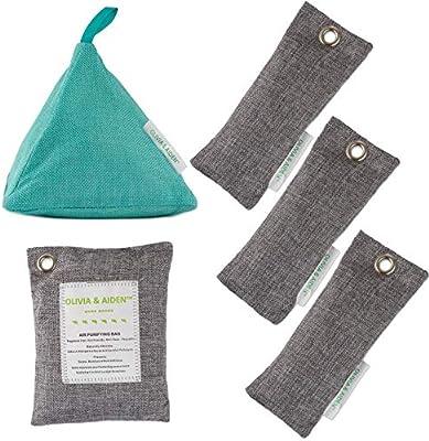 OLIVIA & Aiden 5 paquetes - Ambientador natural - Eliminador de ...