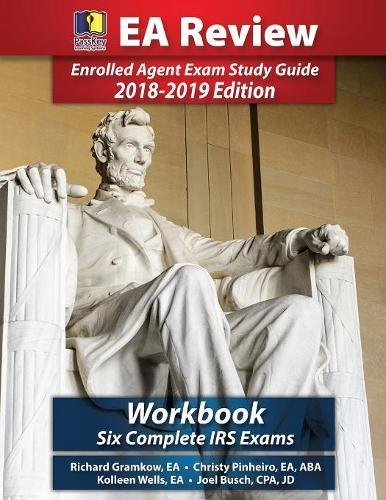 Read Online PassKey Learning Systems EA Review Workbook: Six Complete IRS Enrolled Agent Practice Exams 2018-2019 Edition pdf