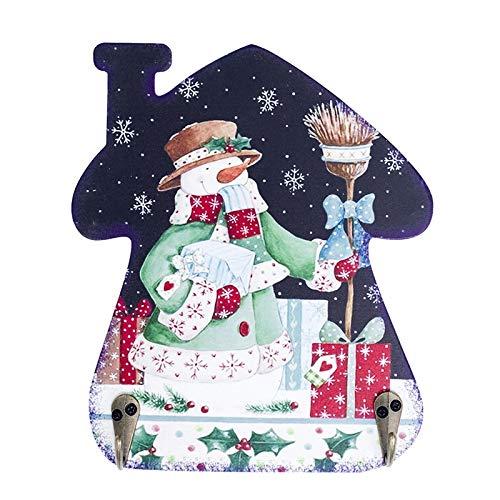 Party DIY Decorations - 1 Pcs Bathroom Wall Hanger Iron Hook 2 Styles Cartoon Snowman Hooks Christmas Resin Decor Coat - Decorations Party Party Decorations Cosplay Hook Coat Bride Hanger Hal]()