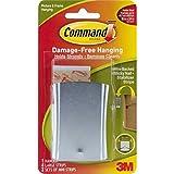 Command Universal Picture Hanger w/ Stabilizer Strips, Jumbo V9BCF, 5-Hanger