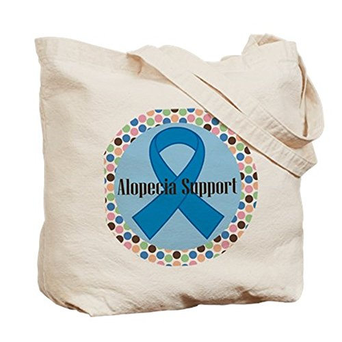 CafePress alopecia–Logo–gamuza de bolsa de lona bolsa, bolsa de la compra