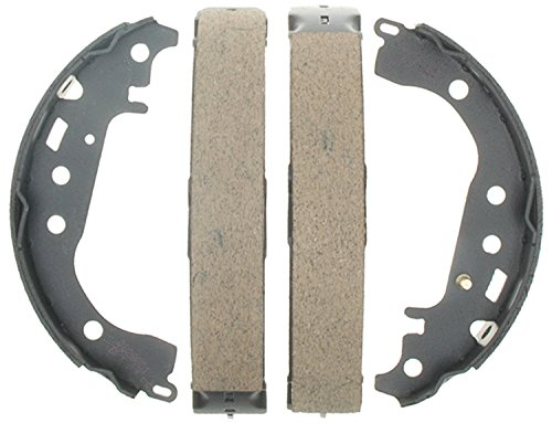 ACDelco 17832B Professional Bonded Rear Drum Brake Shoe Set ()