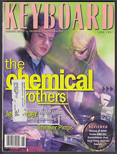 KEYBOARD Chemical Brothers Jeff Lorber Sneaker Pimps ++ 6 1997