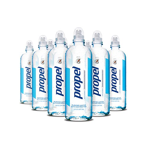 Propel Water Unflavored With Electrolytes 750 ml Bottles 12-Pack Only $14.39