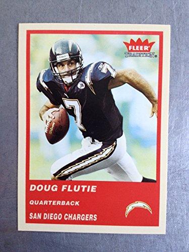 2004 Fleer Tradition Football 535 Doug Flutie NM/M (Near Mint/Mint)