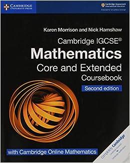 Cambridge Igcse Mathematics Core And Extended Coursebook. Per Le Scuole Superiori. Con Espansione Online. Con Cd-rom Descargar Epub