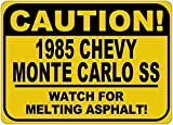 1985 85 CHEVY MONTE CARLO SS Caution Melting