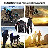 ZEROBIKE Men's Soft Long Sleeve Breathable Bicycle