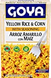 Goya Foods Yellow Rice and Corn Mix, 8-Ounce (Pack of 24)