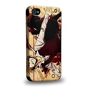 Case88 Premium Designs Durarara!! Mikado Ryugamine Tanaka Taro 1575 Carcasa/Funda dura para el Apple iPhone 4 4s