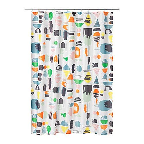 "IKEA NEW""DOFTKLINT SHOWER CURTAINS, Multicolor"