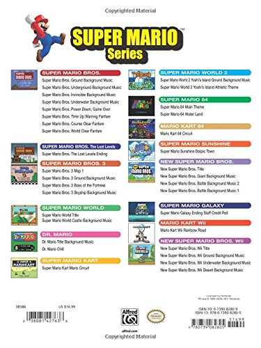 Amazon com: Super Mario Series for Guitar: Guitar TAB