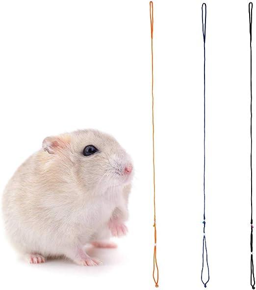 Yasheep - Arnés y Correa de hámster de algodón Ajustable para Mascotas – Cuerda arnés para Mascotas para cobayas pequeños Animales: Amazon.es: Productos para mascotas