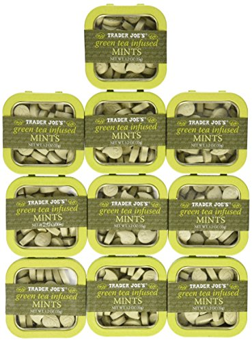 Trader Joes Green Infused Mints