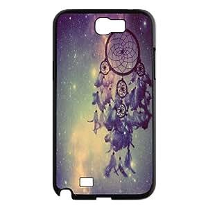 Qxhu Dream Catcher Nebula Hard Plastic Back Protective case for Samsung Galaxy Note2 N7100