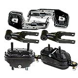 OMNI 5 Fits 95-01 Chevrolet Lumina 3.1L 3.8L Engine Motor & Trans Mount Set 6pcs 95 96 97 98 99 00 01 A2901, A2901, A2796, A2866, A2866, A2712: K1761-06