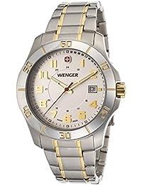 Alpine White Dial Stainless Steel Men's Watch 70477