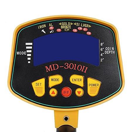 DyNamic MD3010II profesional de metal detector Undeground Gold Digger con pantalla LCD: Amazon.es: Bricolaje y herramientas