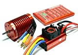 LEOPARD SKYRC 3930KV 10T Brushless Motor & 60A ESC Speed Controller Combo ME718 with RCECHO Full Version Apps Edition