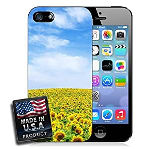 Sunflower Field Blue Sky iPhone 5/5s Hard Case
