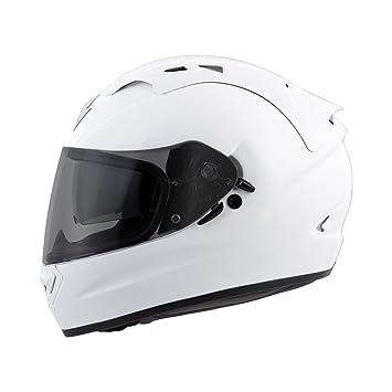312f8210 Amazon.com: Scorpion EXO-T1200 Solid Street Motorcycle Helmet (White,  Large): Automotive