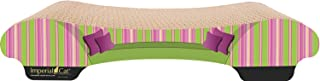 product image for Imperial Cat Bella Scratch and Shape, Pink and Green Stripe