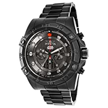 'Invicta Men's 'Star Wars' Quartz Stainless Steel Casual Watch, Color:Black (Model: 26497)