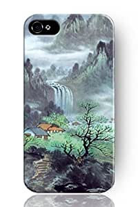 Generic Chinese landscape painting Durable Cover Case for iPhone 6 (4.7 Inch Screen)