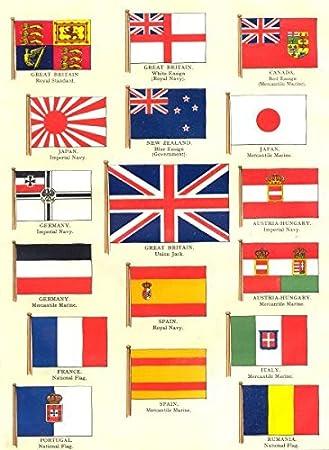 Europa banderas. Royal estándar; Blanco Rojo Azul Ensign; Azul ...