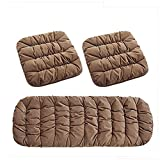 YAOHAOHAO Seat Cushion Car Seat Cushion Car seat covers, car breathable comfortable, anti-skid-Four Seasons general since Seat Protector [3 item]