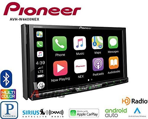 - Pioneer AVH-W4400NEX In Dash Multimedia Receiver with 7